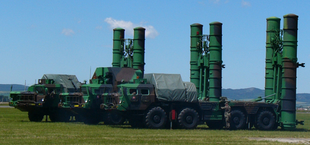 S-300 missile launcher